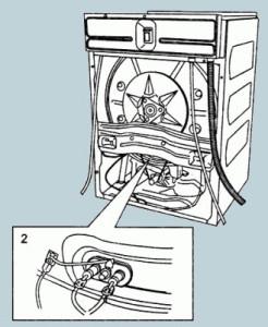 замена тена стиральной машины