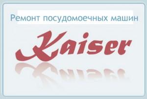 Ремонт посудомоечных машин kayser (кайзер)