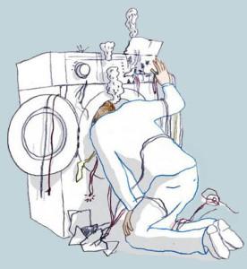 Стиральная машина не крутит барабан